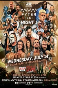 Download AEW Dynamite (14th July 2021) English Fyter Fest Night 1 720p 850MB HDTV