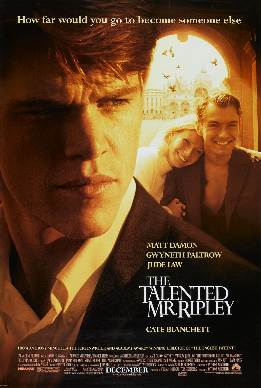 Download The Talented Mr. Ripley (1999) Dual Audio {Hindi-English} 480p [500MB]   720p [1.2GB]   1080p [3GB]
